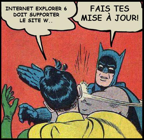 Meme Internet : internet explorer 6