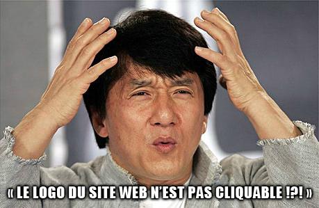 Meme Internet : Logo non cliquable