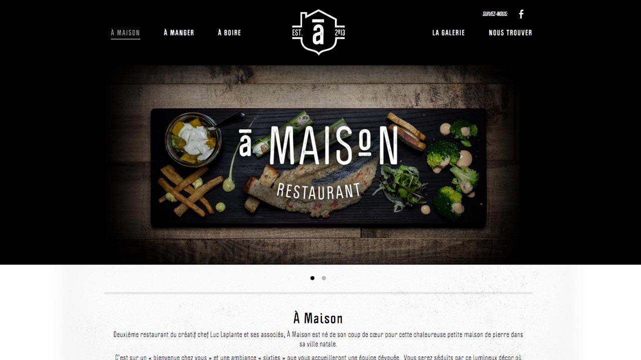 Restaurant À Maison