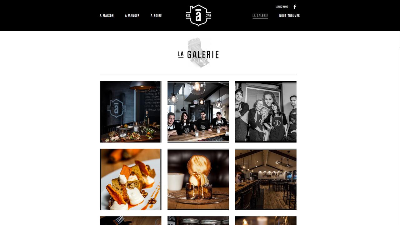 Restaurant À Maison Galerie